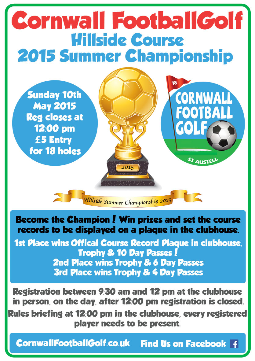Football Golf Hillside competition May 2015