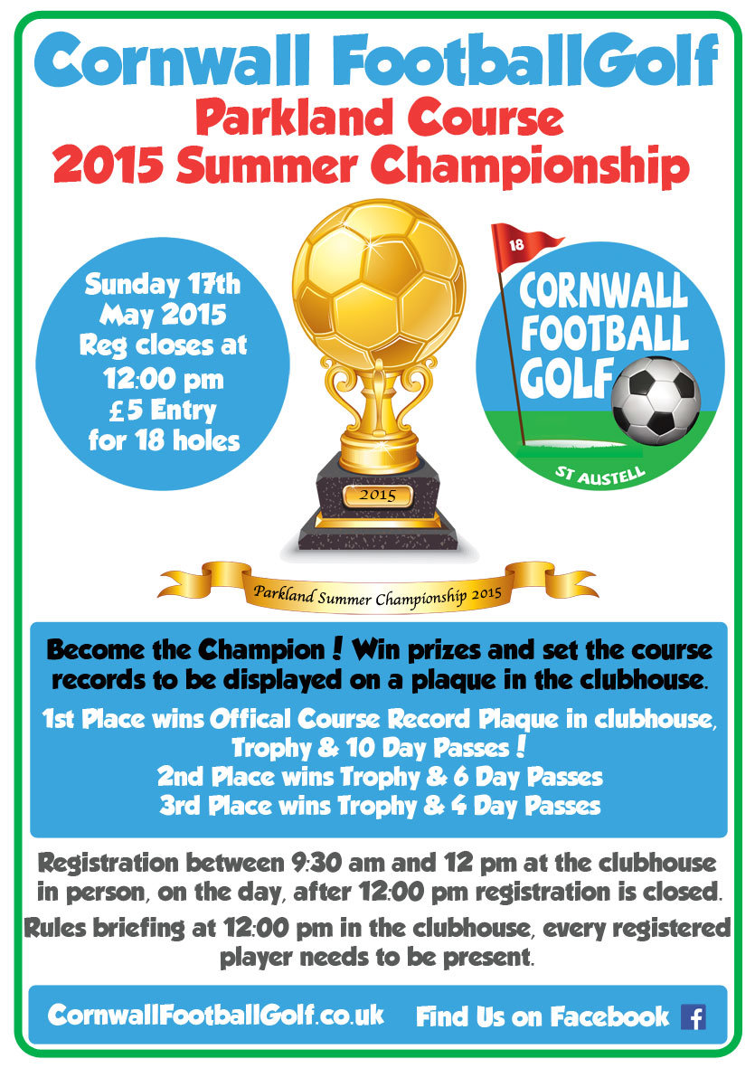 Cornwall Football Golf Parkland Summer Championship