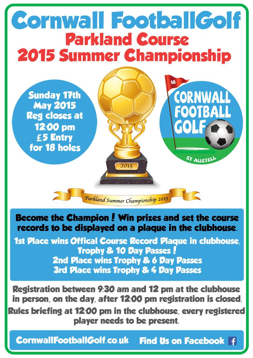 Cornwall Football Golf Parkland Summer Championship