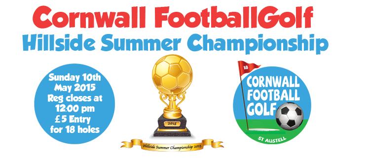 Cornwall Football Golf Hillside Championship